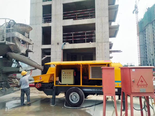 Stationary Concrete Pump For Sale From China Pump