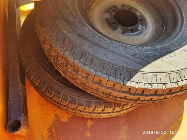 tyres for mixer