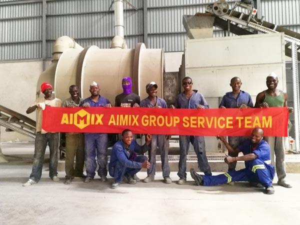 20t dry mix mortar making plant Zambia