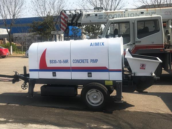 30R diesel concrete pump