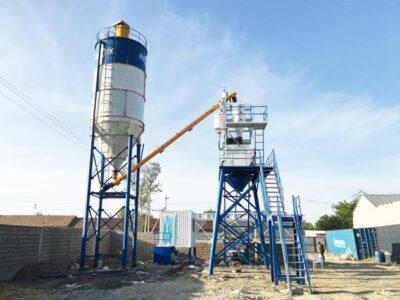 AJ-50 stationary concrete plant uz