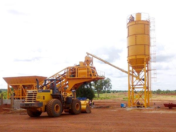 AJY-25 mini cement plant