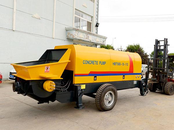 HBT80 electric static trailer concrete pump