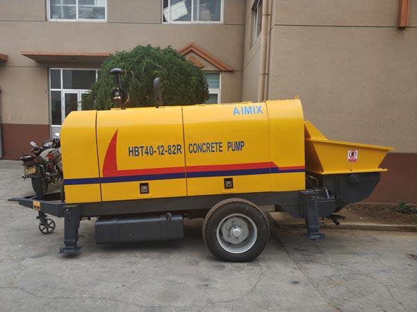 ABT40C concrete pump with diesel engine