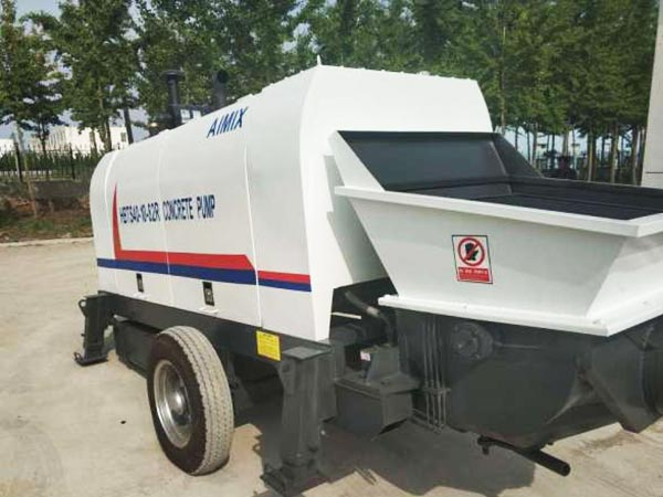 ABT40C diesel engine concrete pump