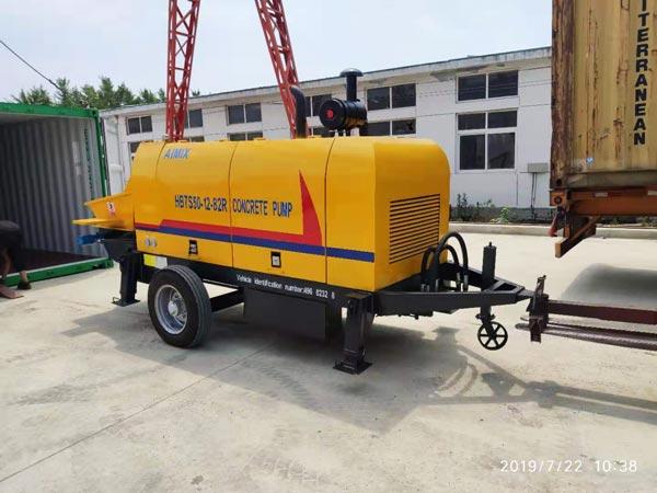 ABT50C diesel concrete pump for sale