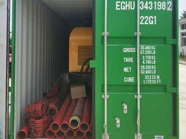 ABT50C diesel pump to Ukraine