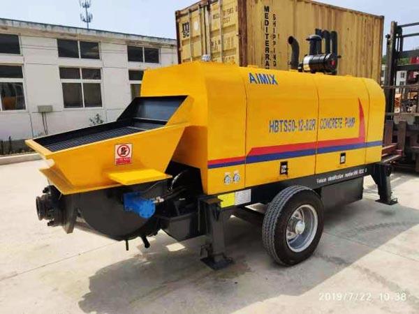 ABT50C diesel concrete pump Ukraine