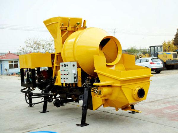 JBS30-JZC350R diesel concrete pump mixer