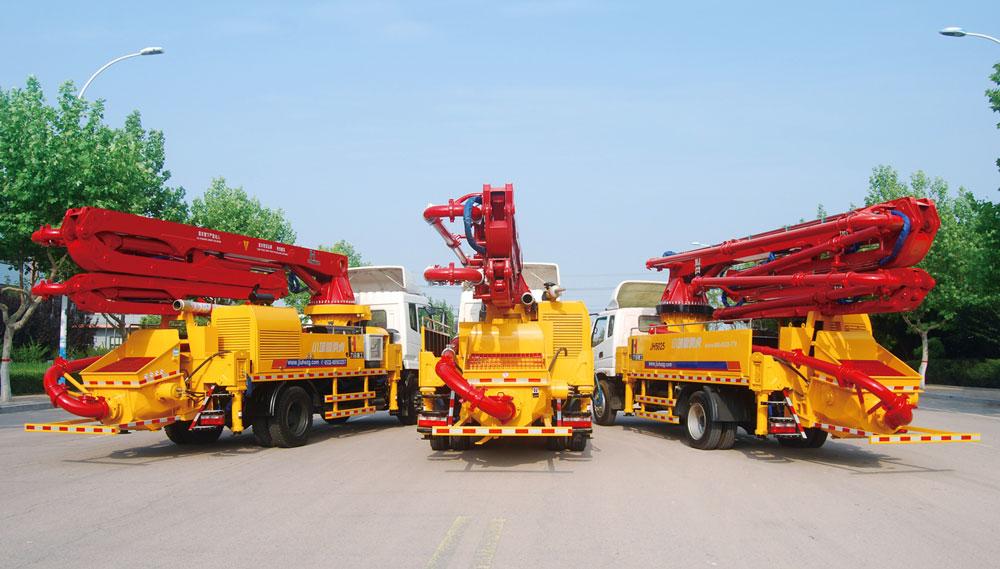 boom pump truck supplier