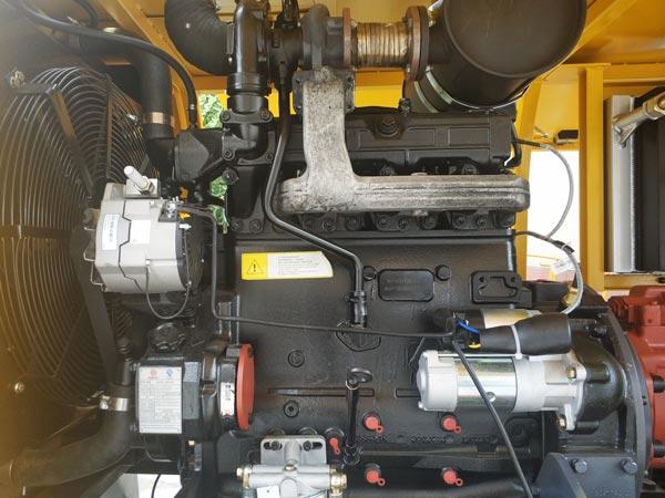 components of concrete pump