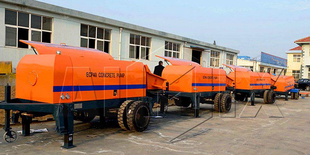 concrete pump manufacturers