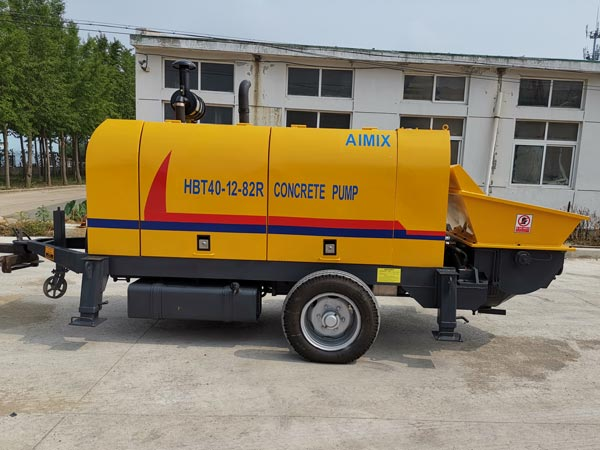 diesel concrete pump Trinidad