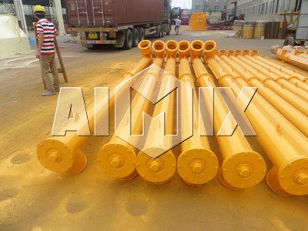 screw conveyor for plant