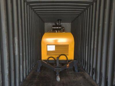 shipment of HBTS40R concrete pump
