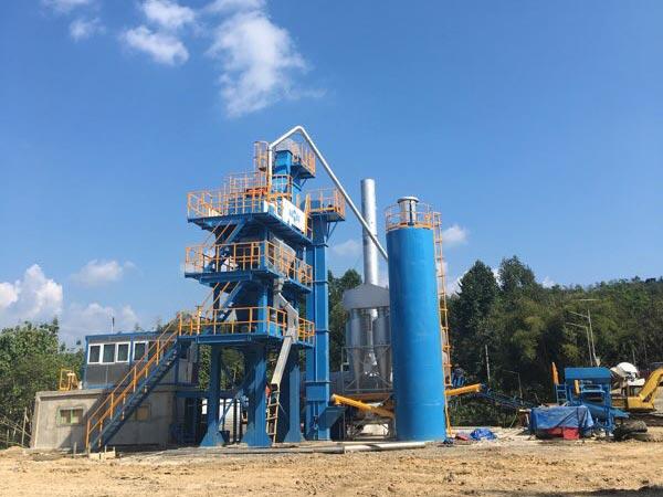 80 ton asphalt plant