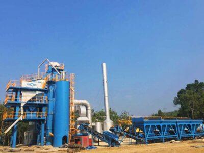 80t asphalt plant Indonesia