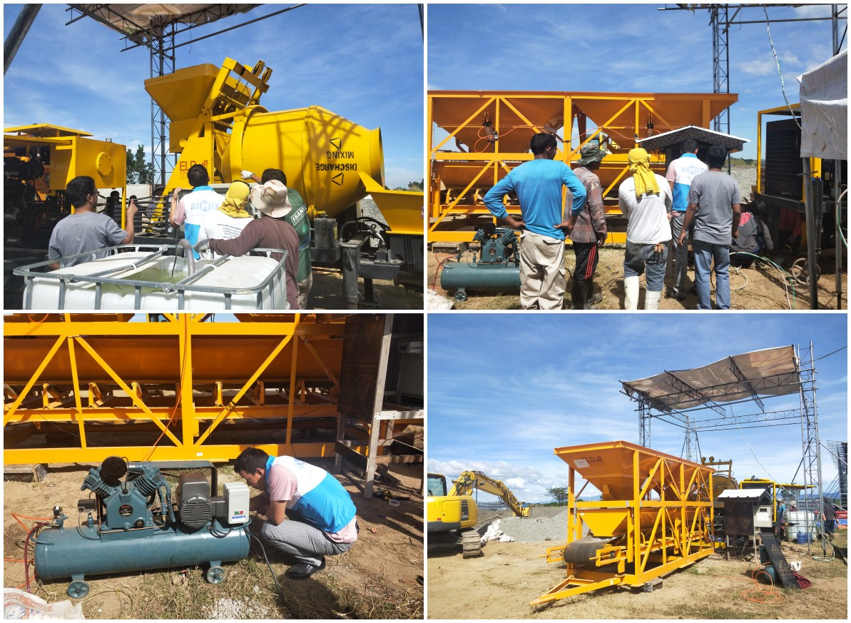Maintenance Of JBS40-10-82R Diesel Cement Mixer Pump in Philippines