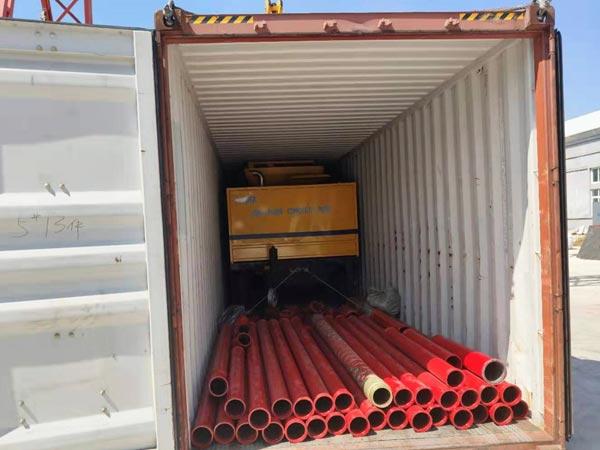 ABJZ40C concrete mixer pump to Jamaica