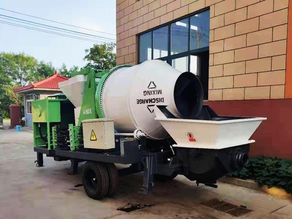 ABJZ40C diesel concrete mixer pump Philippines