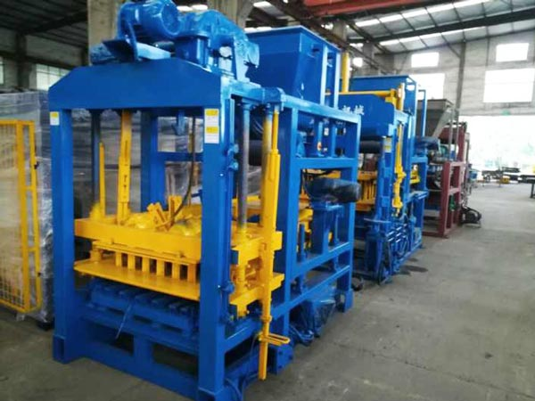 ABM-4SE block machine