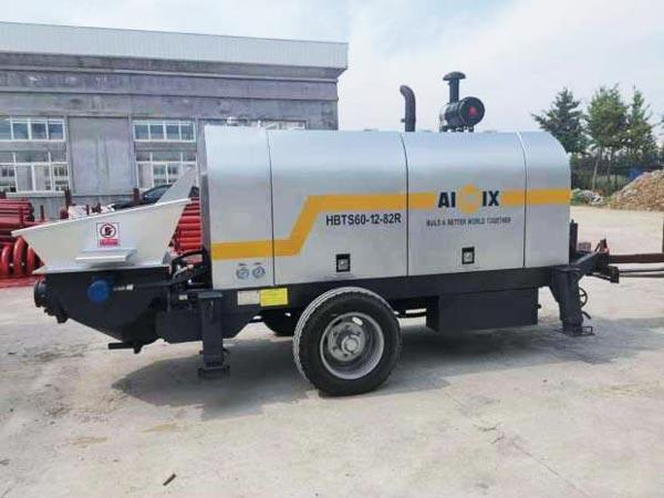 ABT60C diesel engine concrete pump