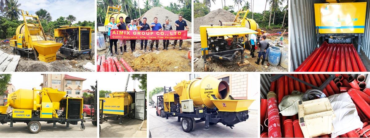 After-sales maintenance concrete mixer pump Philippines