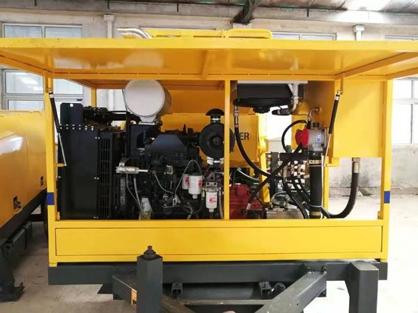 inner of mixer pump