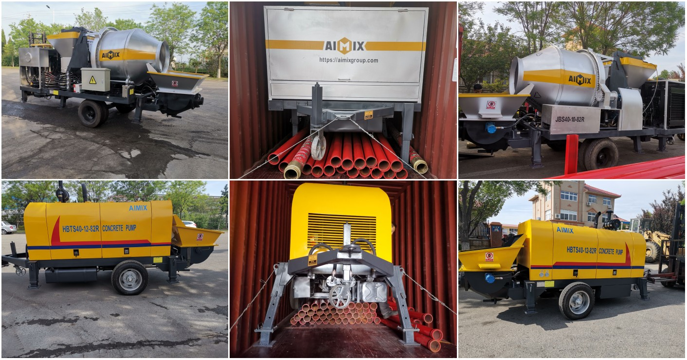 mini concrete pumps to Pakistan