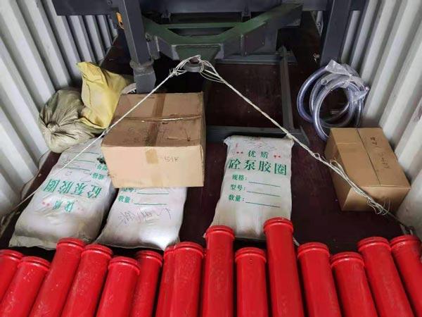 shipment of diesel mixer pump
