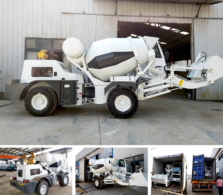 1.2 cub self loading mixer to Russia