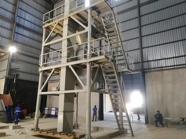 20t dry mortar production line -Zamibia