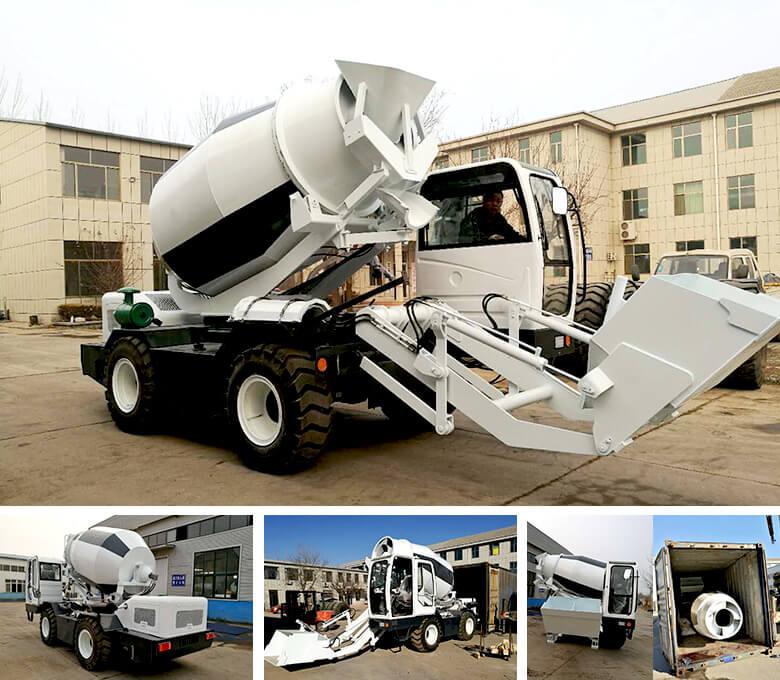 Caminhão self-load de 3.5 cub para Malawi