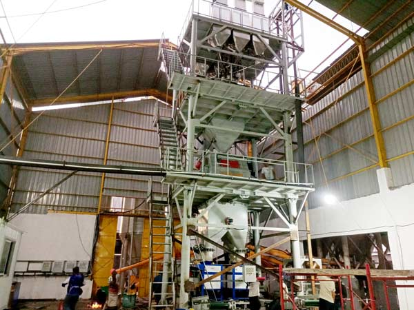 30tph dry mix mortar production line