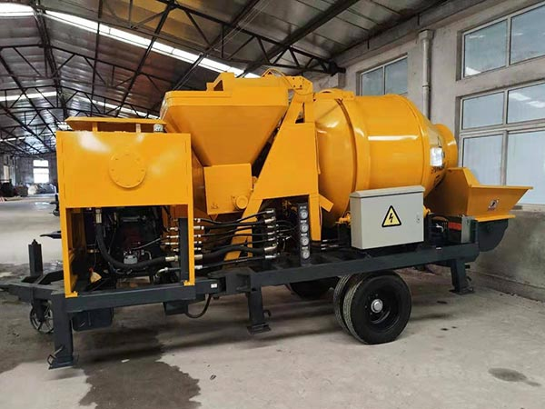 ABJZ40C small diesel mixer pump