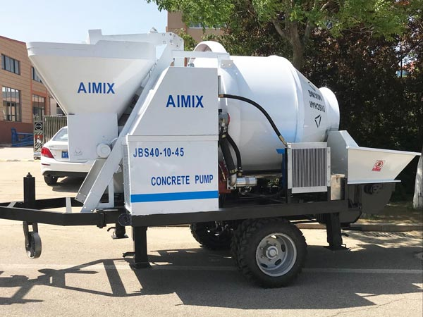 ABJZ40D small electric concrete mixer pump