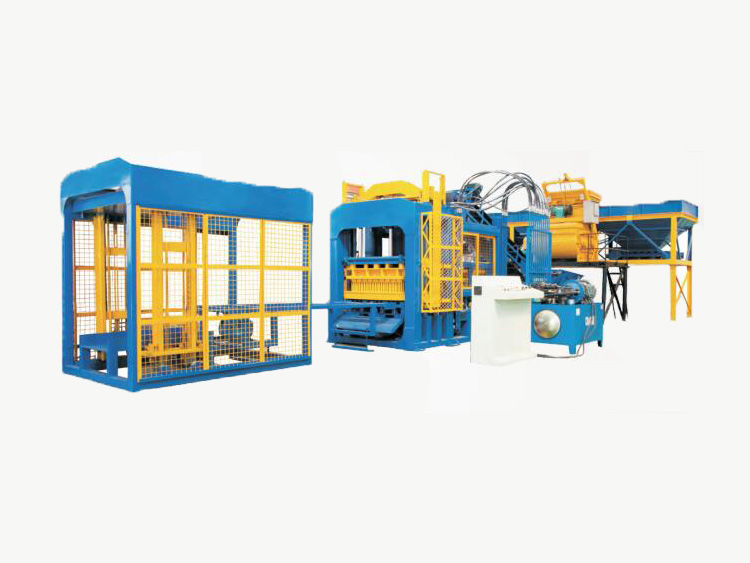 ABM-12S semi automatic hollow block machine