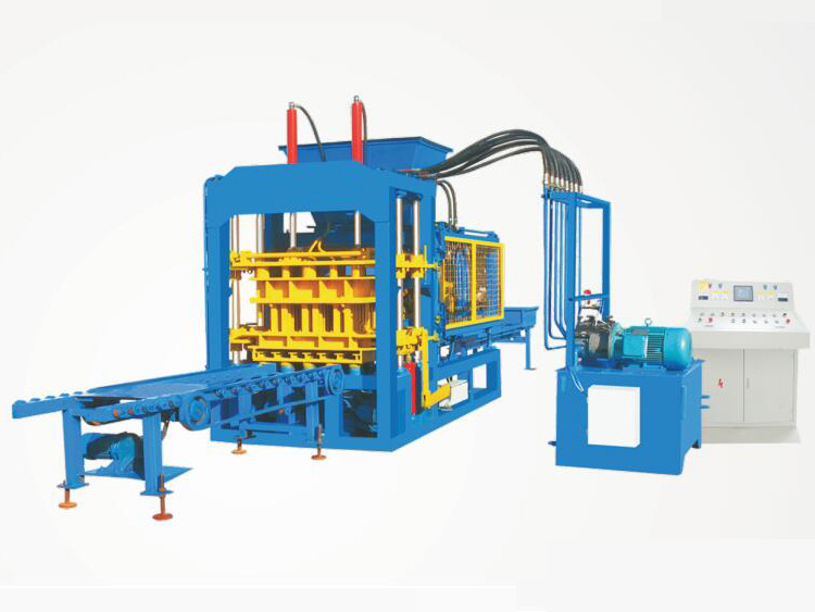 ABM-6S fully automatic fly ash brick making machine