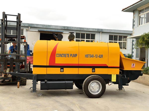 ABT40C mini concrete line pump