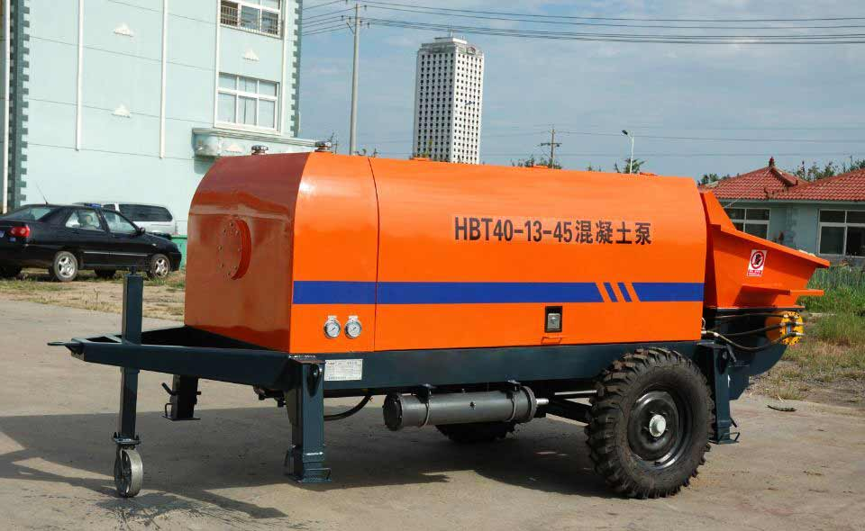 ABT40D electric concrete trailer pump