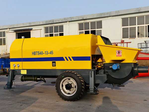 ABT40D portable concrete pump machine