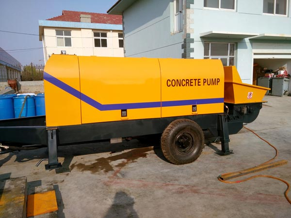 ABT60D concrete pump portable
