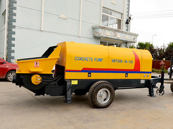ABT80C portable concrete pump