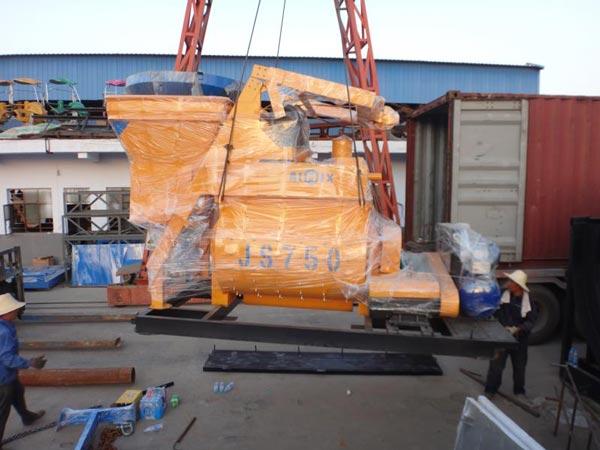 AJ-35 concrete plant to Uzbekistan