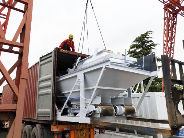 AJ-50 batch plant to Bangladesh