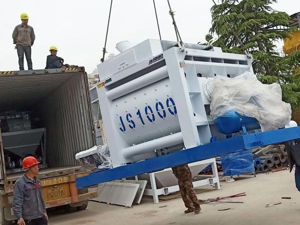 AJ-50 batching plant to Bangladesh