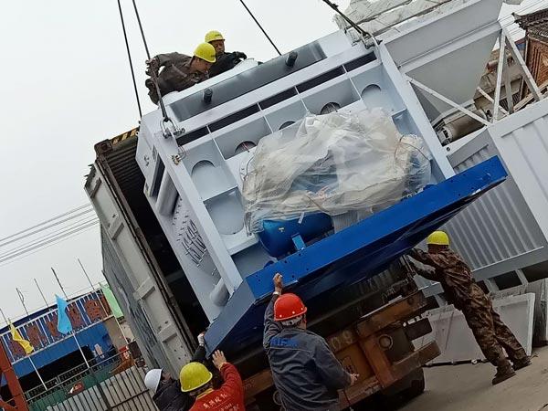 AJ-50 concrete plant to Bangladesh