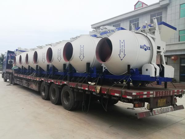 JZM series concrete drum mixer