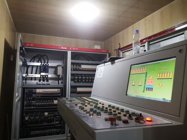 PLC control room