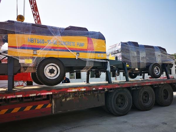 Tajikistan concrete pump